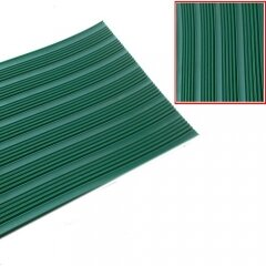 Wide Fine Ribbed Insulation Rubber Sheet